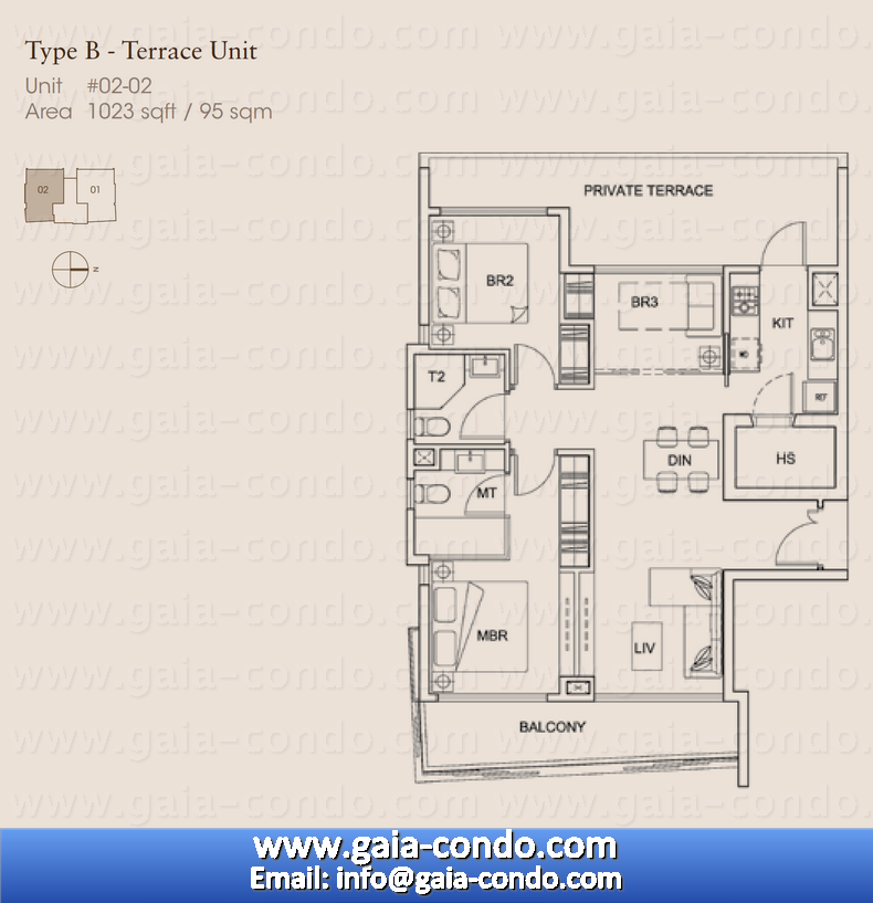 3 Bedroom Floor Plan Singapore Jalan Dusun Gaia Condo