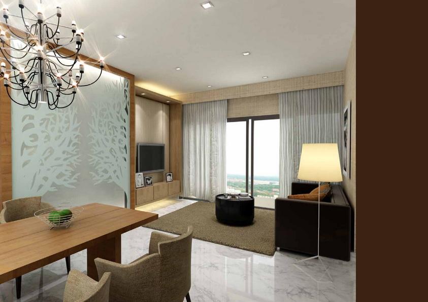 Jalan Dusun Gaia Condominium Personalized Interior