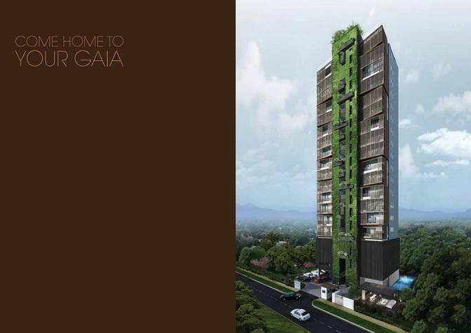 Jalan Dusun Gaia Condominium Day Perspective