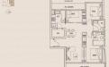 Jalan Dusun Gaia Condominium Type A1 - 3 Bedroom