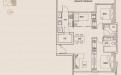 Jalan Dusun Gaia Condominium Type B1 - 3 Bedroom
